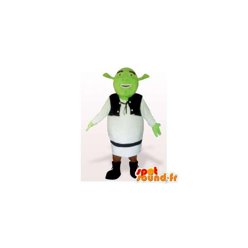 Shrek Maskottchen Charakter berühmten Cartoon - MASFR006187 - Maskottchen Shrek