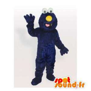 Blue monster Maskot