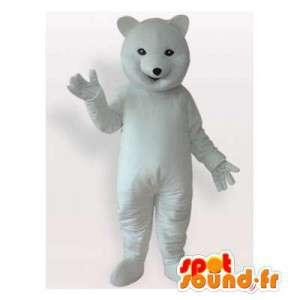 Polar bear mascot. Polar...