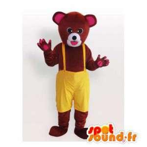 Mascota del oso de Brown...