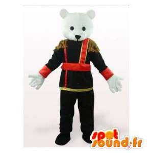 Polar Bear mascotte in het...