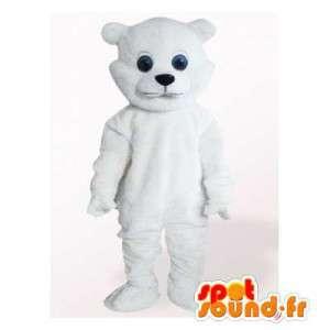 Mascotte d'ourson blanc....