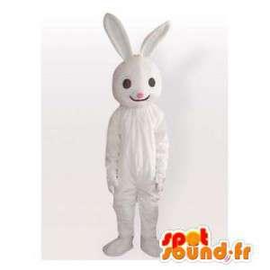 Blanco mascota de conejo....