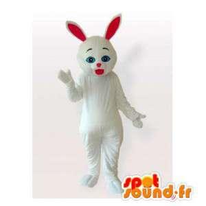 Mascotte de lapin blanc....