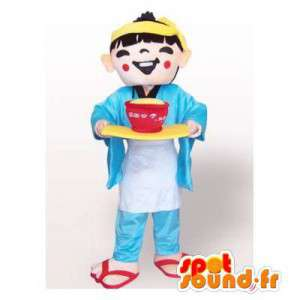 Chinesische Maskottchen in...