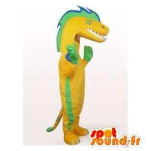 Mascot grün und gelb...