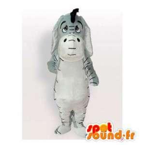 Eeyore mascotte, de beroemde ezel vriend van Winnie de Poeh