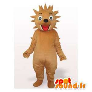 Brown hedgehog mascot, all spice - MASFR006300 - Mascots Hedgehog