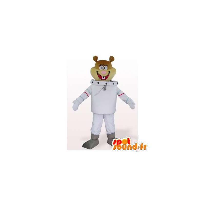 Mascotte de Sandy, castor astronaute, ami de Bob l'éponge - MASFR006327 - Mascottes Bob l'éponge