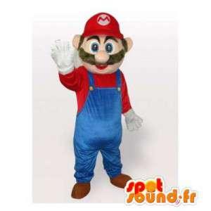 Μασκότ Mario, διάσημο βίντεο χαρακτήρα παιχνίδι - MASFR006340 - Mario Μασκότ