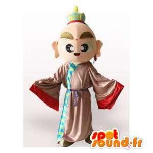 Mascot asiatica, Buddha, monaco - MASFR006341 - Umani mascotte