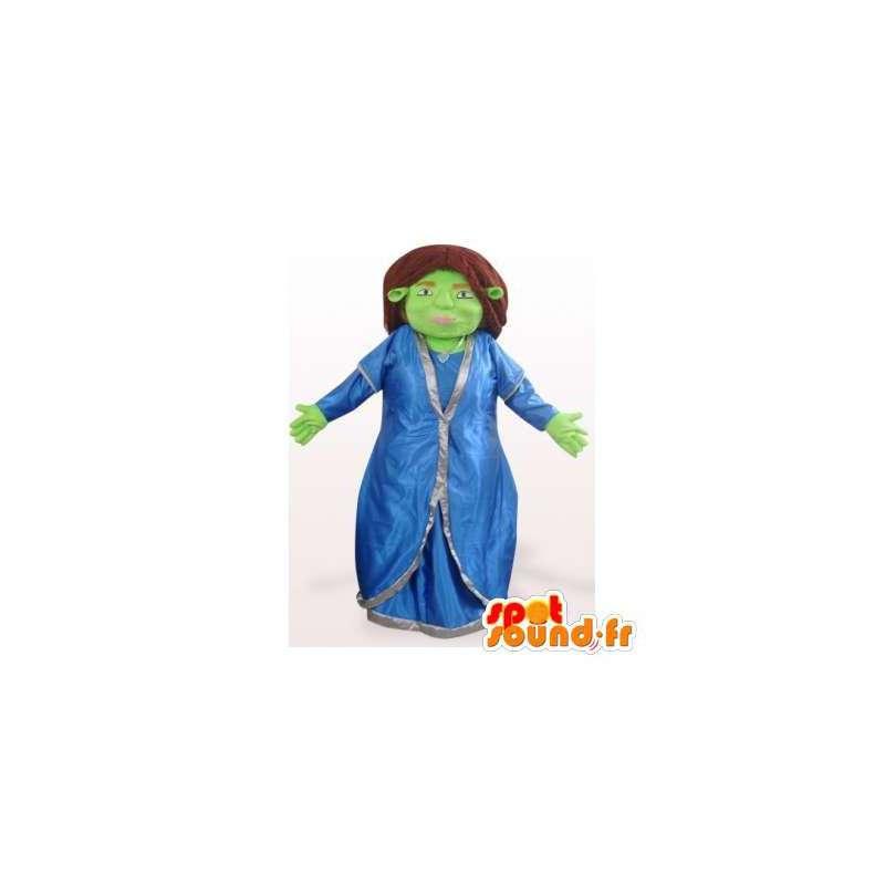Fiona mascotte, beroemd ogre Shrek vriendin - MASFR006344 - Shrek Mascottes