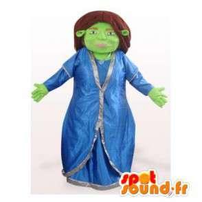 Mascotte de Fiona, célèbre ogre, copine de Shrek - MASFR006344 - Mascottes Shrek