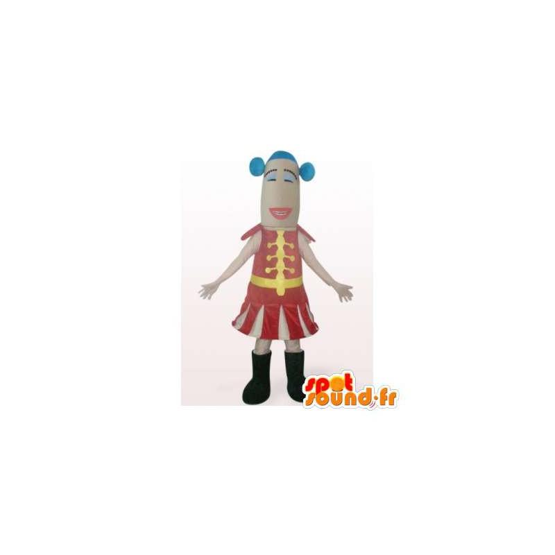 Cirkus tamer maskot. Cirkusdragt - Spotsound maskot kostume