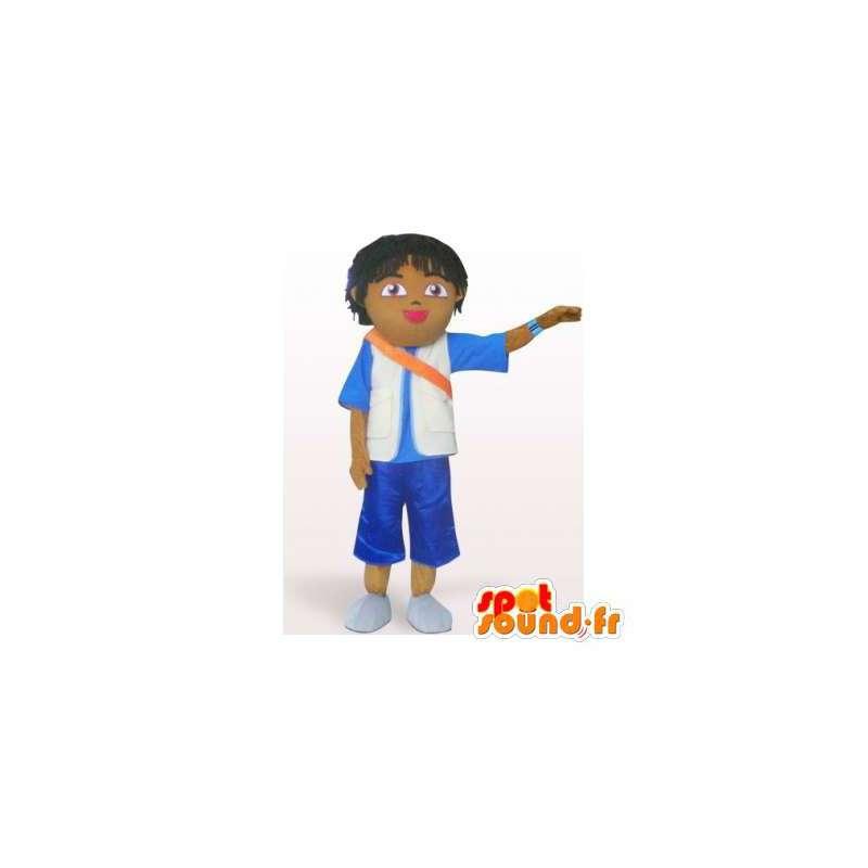 Mascota de la escuela Brown.Juego del muchacho - MASFR006353 - Chicas y chicos de mascotas