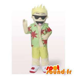 Vacanze mascotte. Bionda Costume - MASFR006361 - Umani mascotte