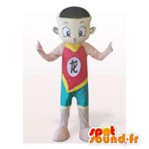 Maskottchen-Turnerin.Asian Costume - MASFR006369 - Menschliche Maskottchen