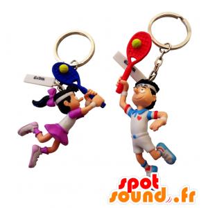 Objet publicitaire marketing - Porte clés 2D OU 3D sur mesure