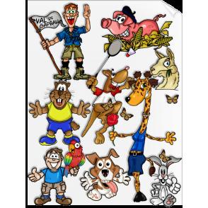Design de Mascotte (Sketch, BAT, idée...) - Marketing de mascotte - GOODIES1000 - Goodies