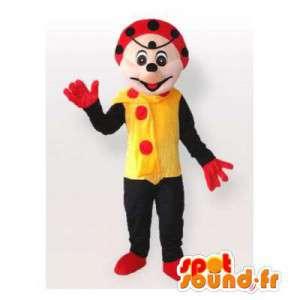 Coccinella mascotte. Ladybug costume