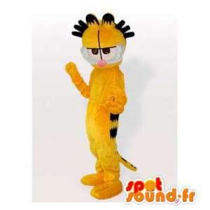 Garfield maskot, berømte oransje og svart katt - MASFR006389 - Garfield Maskoter