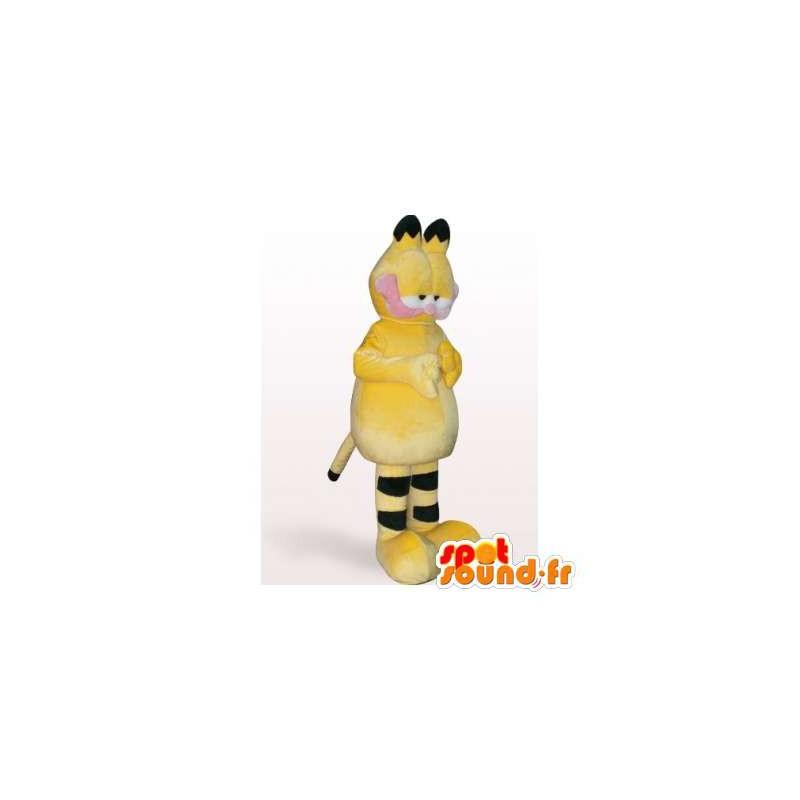 Mascotte de Garfield, célèbre chat orange et noir - MASFR006393 - Mascottes Garfield