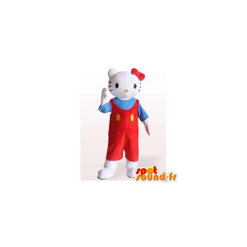Mascotte van Hello Kitty. Hello Kitty Costume - MASFR006400 - Hello Kitty Mascottes