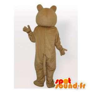 Béžová tygr maskot. Tiger Suit - MASFR006403 - Tiger Maskoti