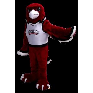 Maskotka orzeł czerwony, czarny i biały - MASFR20360 - ptaki Mascot