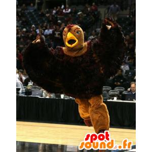 Aquila mascotte, grande uccello marrone - MASFR20408 - Mascotte degli uccelli