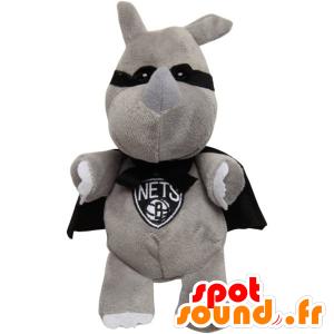 Maskert kanin maskot med en cape - MASFR20491 - Mascot kaniner