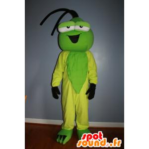 Zielony i żółty maskotka owad - MASFR20603 - maskotki Insect