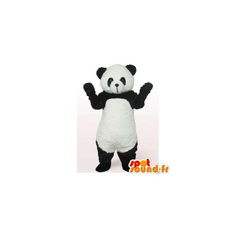 mascot schwarz und weiss panda panda kostum masfr006423 maskottchen der pandas