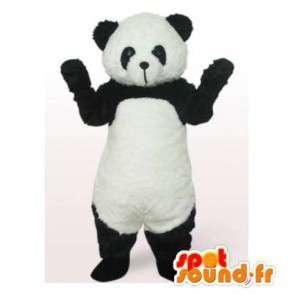 Mascot schwarz und weiß Panda.Panda-Kostüm - MASFR006423 - Maskottchen der pandas