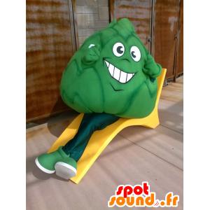 Kale Maskottchen, Riesen Artischocke - MASFR20682 - Maskottchen von Gemüse