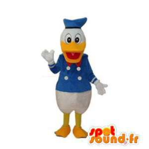 Mascote do famoso Pato Donald. Costume Duck
