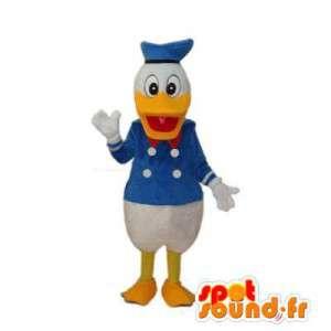 Maskotti Tunnettu Aku Ankka. Duck Costume