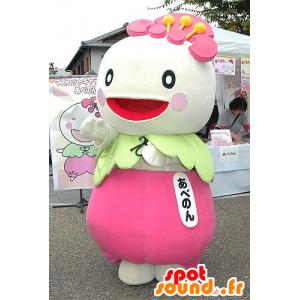 Mascot Rüben, Rettich, japanisches Zeichen - MASFR20725 - Maskottchen von Gemüse