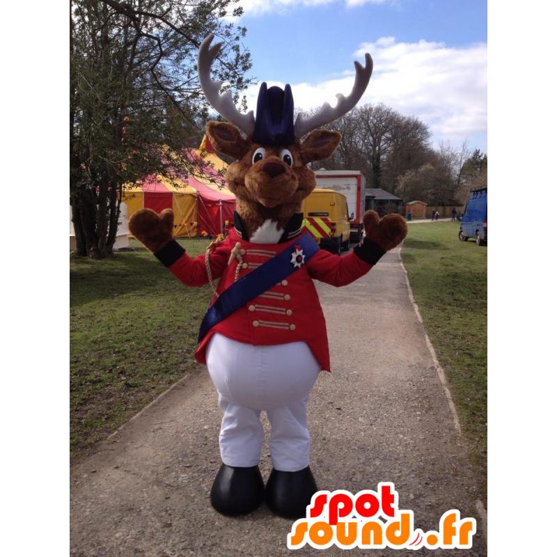 Reinsdyr Mascot, sirkus kostyme villrein - MASFR20809 - Maskoter Circus