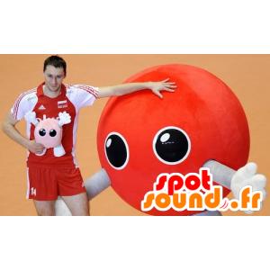 Mascot red balloon, alien - MASFR20850 - Monsters mascots