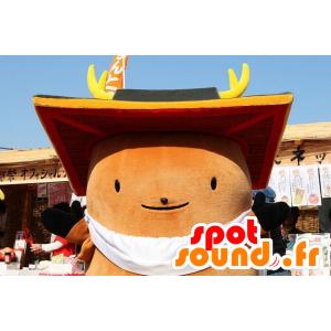 Maskot stor brun mann, all round - MASFR20866 - Ikke-klassifiserte Mascots