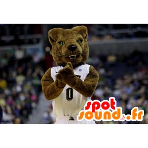 Mascota del oso pardo, de aspecto feroz - MASFR20876 - Oso mascota