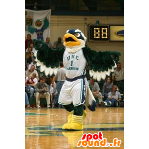 Mascot Eagle groen, blauw en wit - MASFR20925 - Mascot vogels