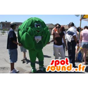 Mascot Artischocke grünen Riesen - MASFR20941 - Maskottchen von Gemüse