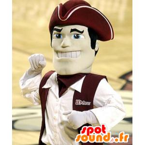 Mascotte foam, captain - MASFR20944 - Human mascots