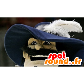 Mascot realistic musketeer - MASFR20963 - Mascots of soldiers