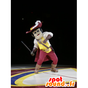 Maskotti muskettisoturi