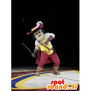 Musketeer Maskottchen - MASFR20976 - Maskottchen der Soldaten