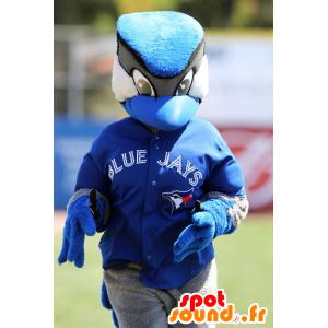 Maskotka ptaka, jay, niebieski, czarny i biały - MASFR21022 - ptaki Mascot