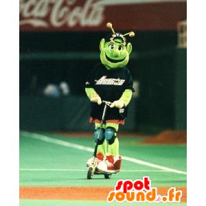 Mascot alien, green alien - MASFR21061 - Monsters mascots